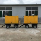 Mobile Generator Set Trailer
