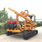 Steel Posts Hydraulic Crawler Pile Driver with Caterpillar