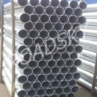 Powder Coated Round Road Safety Crash Barrier Post